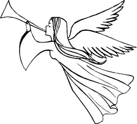 flying angel coloring page ba 250 da web desenhos de anjo para o natal