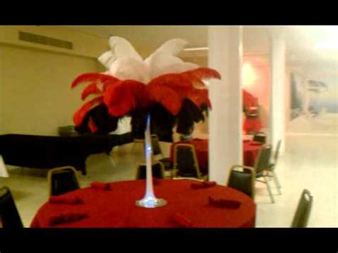 layered feather centerpieces in ohio youtube
