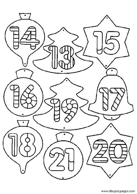 dibujos de navidad para colorear por numeros numeros para colorear del 10 al 20 imagui