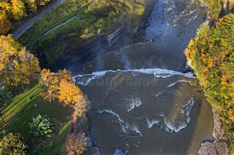 the and of dominick davidner middle falls time travel novel volume 3 books aerial view of the middle falls at letchworth state pa