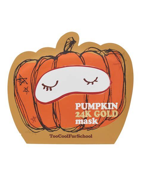 Masker Bubuk Emas Mask Gold 24k cool for school pumpkin 24k gold mask cult