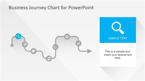 powerpoint templates for journey flat business journey chart powerpoint template slidemodel