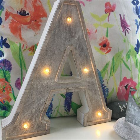 small light up letters small wooden led light up letter lights a z battery