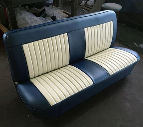 classic truck bench seat pleats and bolsters oh my custom upholstery cover chevy c 10