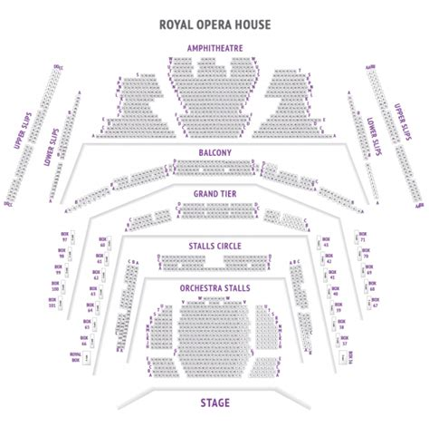 Grand Opera House Seating Plan Royal Opera House Theatre