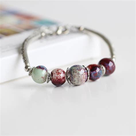 Handmade Ceramic Jewelry - bigbing jewelry fashion handmade ceramic silver