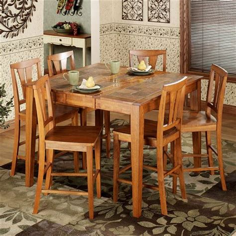 dining room furniture albany ny west albany 7 pc counter height dining set