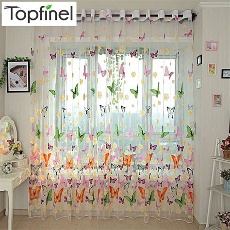 aliexpress com buy 2016 classic sheer curtains for aliexpress com buy top finel 2016 finished butterfly