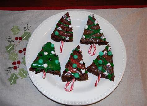holiday tree brownies holiday cookie swap teaspoon
