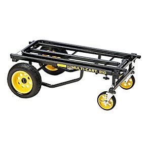 Multi Max 33 R black frame yellow wheels max multi cart r10rt max wwbw
