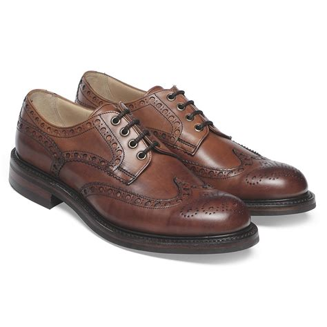 brogues c 3 68 74 cheaney avon r leaf leather brogue made in