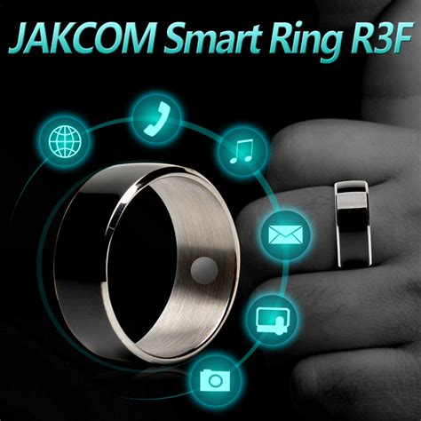 ring my android jakcom r3f smart ring waterproof dust proof fall proof for nfc electronics mobile phone android