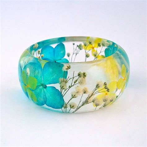 Beautiful Botanical Resin Jewelry By Sumner Smith