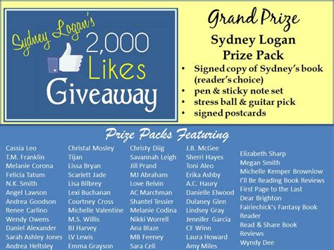 2000 Likes Giveaway - lissa bryan sydney logan s 2000 likes giveaway
