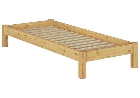 einzelbett holz futonbett kiefer massiv 100x200 einzelbett holz real