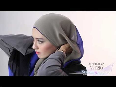 tutorial jilbab pashmina purple styles by ellen sufyaa sheyla tutorial vidoemo emotional video unity