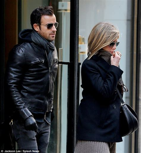 So What If Aniston Is Dating A Hunk by Aniston And Justin Theroux Nyc Lunch Date