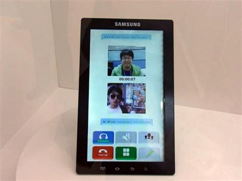 Samsung Tab 10 Inch Second samsung 10 inch galaxy tab tablets teased photos