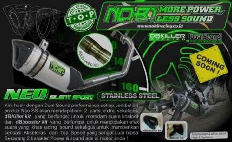 Knalpot Nobi Neo Ss Motor Moge Yamaha R15 3 Daftar Harga Produk Knalpot Nobi Nob1 Terbaru