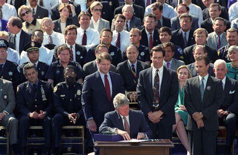 Bill Clinton Criminal Record Crime Bill Taints Clinton Legacy Michael Owens