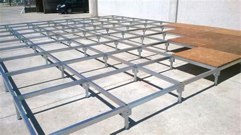 pedane palco pedane per dehor modulari da esterno