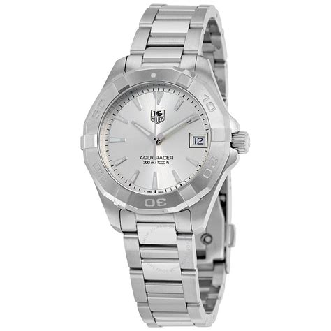 Tag Heuer Silver tag heuer aquaracer silver way1311
