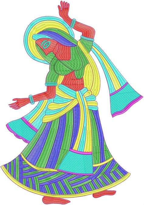 design of embroidery embdesigntube live human figure embroidery design by
