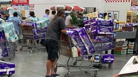 toilet paper coronavirus chaos australians panic buying   run