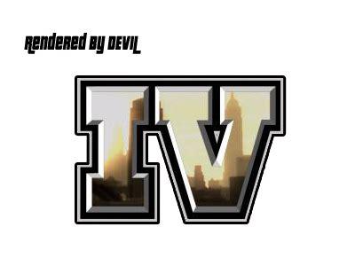 Grand Theft Auto 4 Logo by Wordredpitext Gta Iv Logo