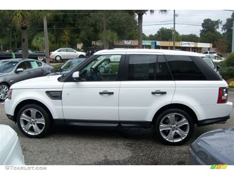 land rover supercharged white 2011 fuji white land rover range rover sport supercharged