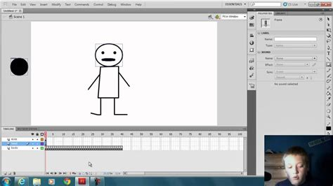 Tutorial For Flash Cs5 Beginners | flash professional cs5 beginner tutorial animation basics
