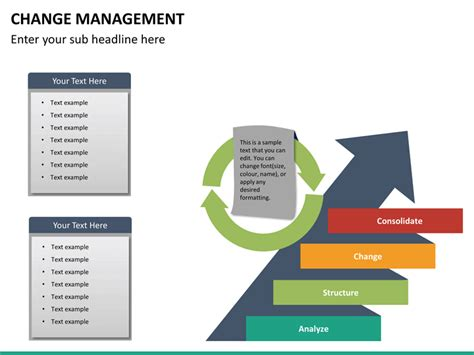 powerpoint change slide template change management powerpoint template sketchbubble