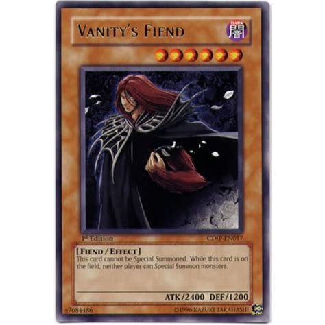 Vanity S Fiend by Vanity S Fiend Cdip En017 Unlimited Edition Yu Gi Oh Card
