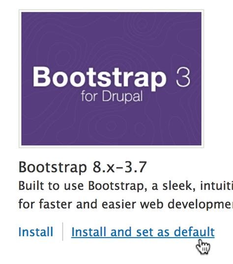 installing bootstrap on drupal getting started with bootstrap in drupal 8 webwash