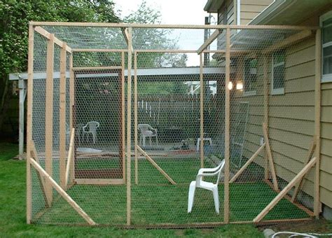 backyard cat enclosure outdoor cat enclosures connected to house google search