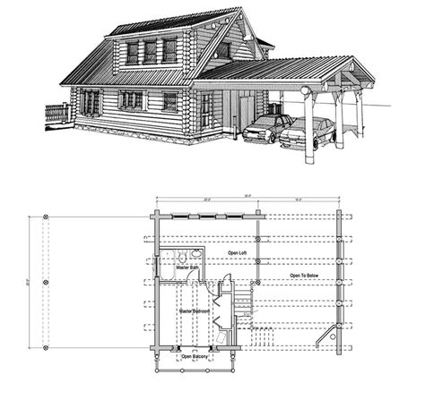 Small Rustic Cabin Floor Plans | small log cabin floor plans with loft rustic log cabins