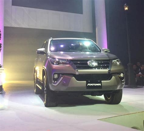Toyota Philippines Hiring All New Toyota Fortuner Launched In Philippines