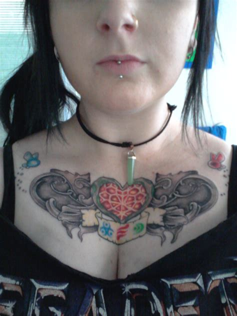 chest zelda tattoo zelda chest piece finished by jade maggot on deviantart