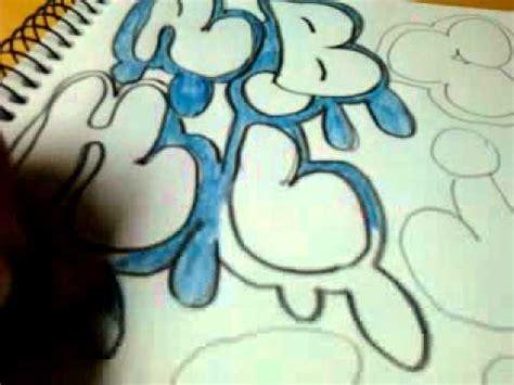 alfabeto de graffiti parte  youtube