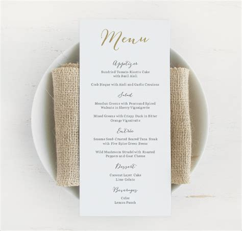 menu template wedding wedding menu template 24 in pdf psd word