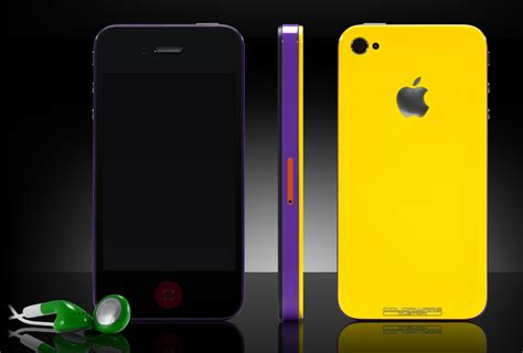 Colorware Spruces Up The Iphone by Colorware Will Fix Your Iphone 4 Antenna Issue With Style