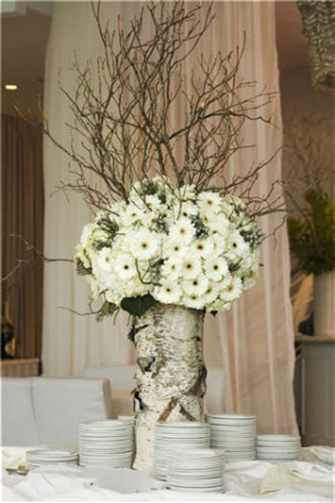 Frank Gallo Son Florist Birch Tree Centerpiece Birch Tree Wedding Centerpieces