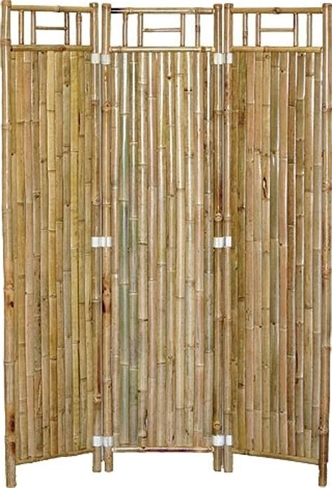 bamboo privacy screen asian screens and room dividers by tiki bar central