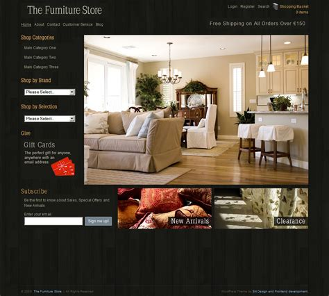 home interior website 8 shopping themes for niche stores wp