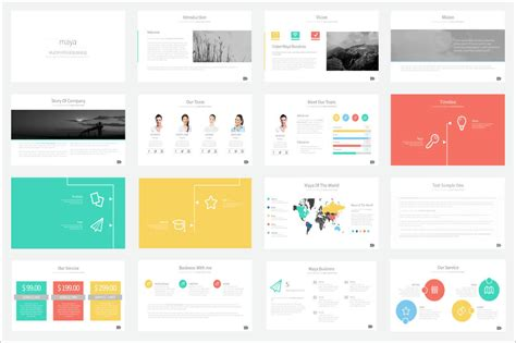 template inspiration 20 outstanding professional powerpoint templates