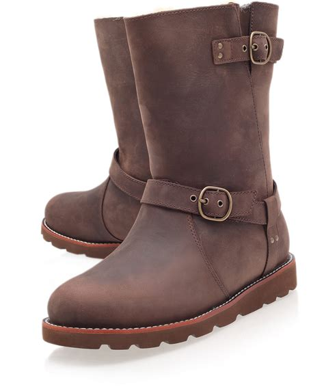 ugg boots chocolate brown