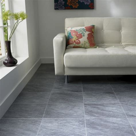 grey tile living room coloridos suelos para la vivienda