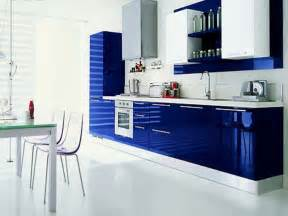 modern blue kitchen kutchina chimney sales support 9830738848 kutchina