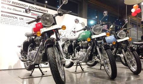 royal enfield classic 350 redditch reaches dealerships