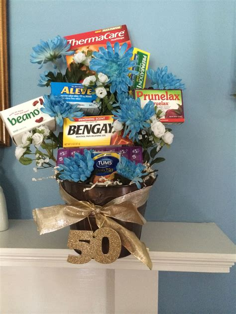 Over The Hill  Ee  Gift Ee   Basket Great For A  Ee  Th Ee    Ee  Birthday Ee